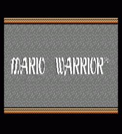 Mario Warrior (Dragon Warrior Hack) [a1] ROM